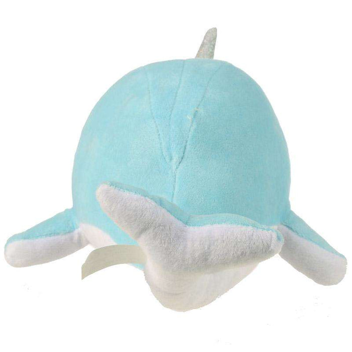 Plush Kawaii Narwhal Cushion from Pukkagifts.uk
