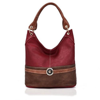 Tulisa Jewel Embelish Tote Bag Red