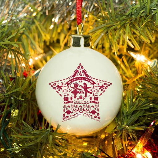 Personalised In The Night Garden Star Christmas Bauble