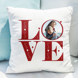 LOVE Photo Upload Cushion