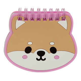 Shiba Inu Dog Shaped PVC Notepad