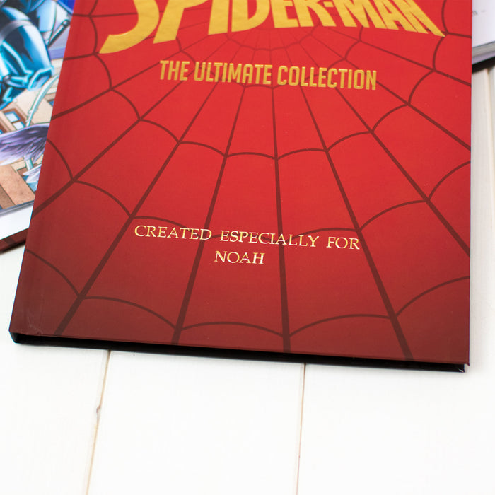 Personalised Spider-Man Collection Book from Pukkagifts.uk