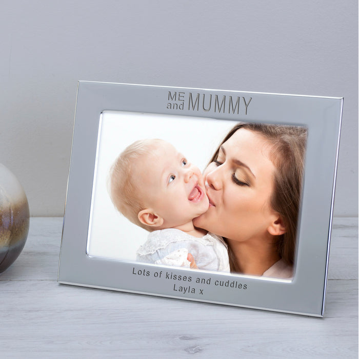 Personalised ME and MUMMY Photo Frame 7x5