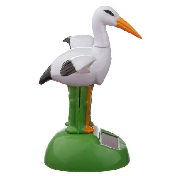 Stork Solar Powered Dashboard Toy