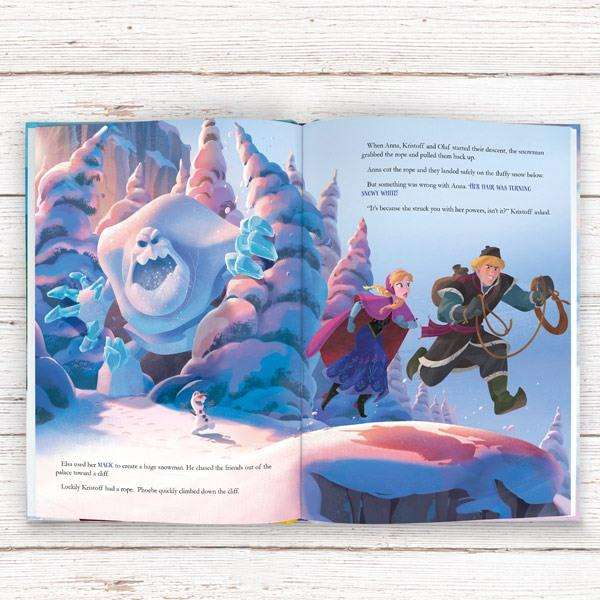 Personalised Disney Frozen Story Book from Pukkagifts.uk