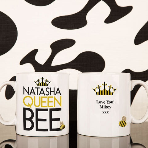 Personalised Queen Bee Mug