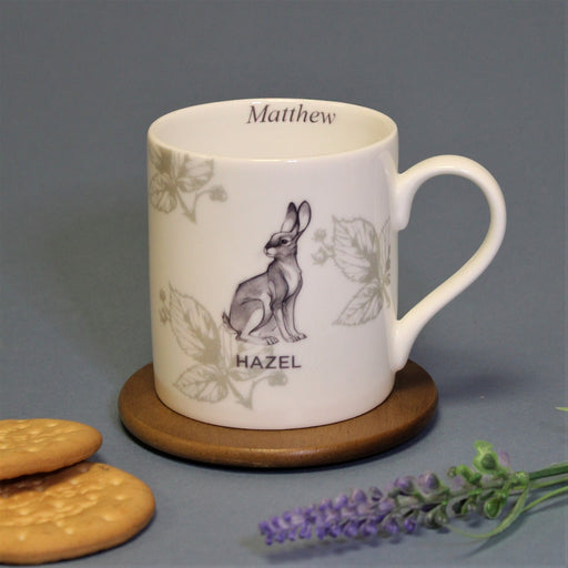 Personalised Watership Down Hazel Balmoral Mug from Pukkagifts.uk