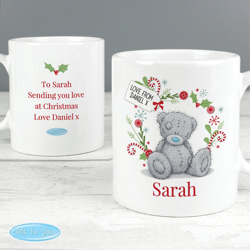 Personalised Me to You Christmas Mug