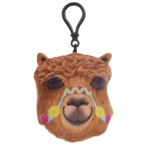 Plush Alpaca Sound Keyring from Pukkagifts.uk