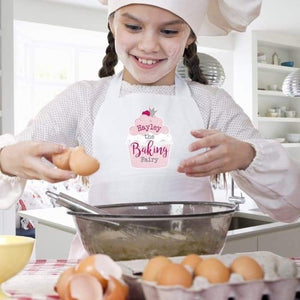 Personalised Baking Fairy Children's Apron from Pukkagifts.uk