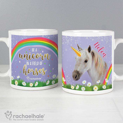 Personalised Rachael Hale Unicorn Mug from Pukkagifts.uk