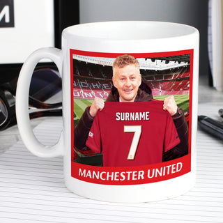 Personalised Manchester United FC Manager Mug