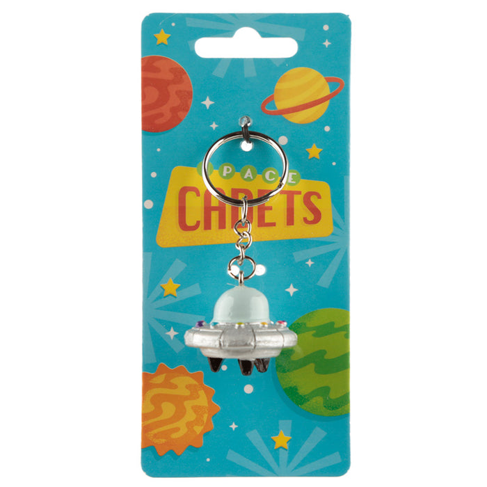 Space Cadet Spaceship Keyring from Pukkagifts.uk