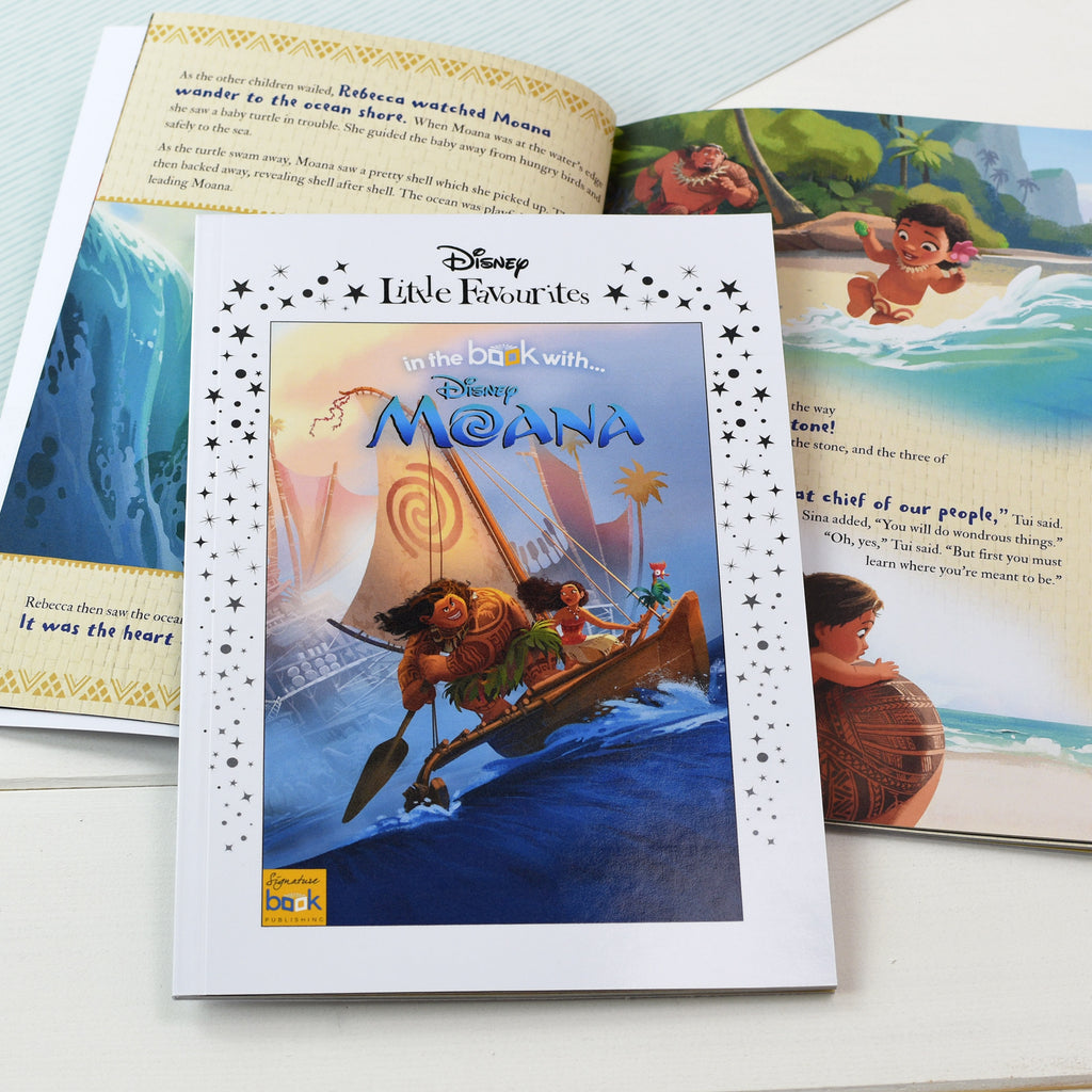 Personalised Disney Little Favourites Moana Book from Pukkagifts.uk