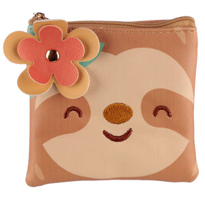 Just Hanging Around Sloth PVC Change Purse from Pukkagifts.uk