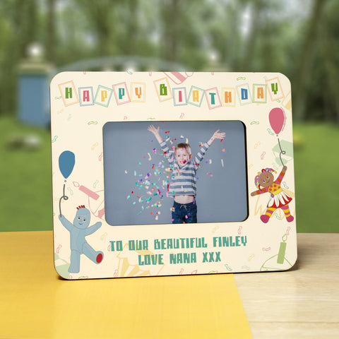 Personalised In The Night Garden Birthday Photo Frame 6 x 4 from Pukkagifts.uk