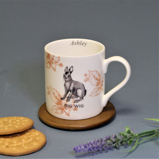 Personalised Watership Down Big Wig Balmoral Mug from Pukkagifts.uk