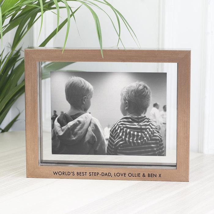 Personalised Metallic Copper Toned Photo Frame - Pukka Gifts