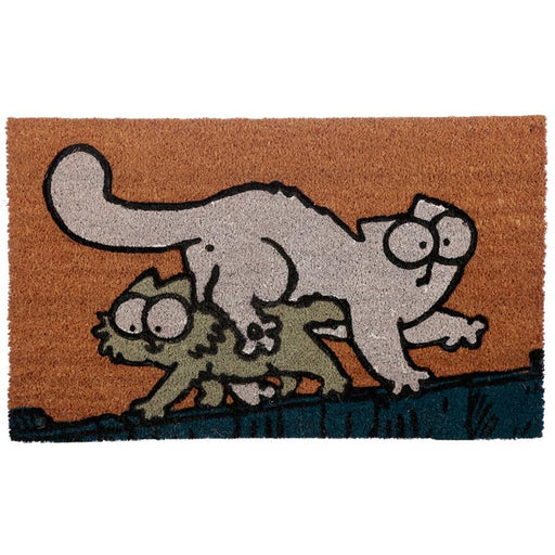 Simon's Cat & Kitten Coir Door Mat