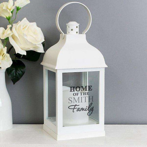 Personalised Home Family Lantern,Pukka Gifts