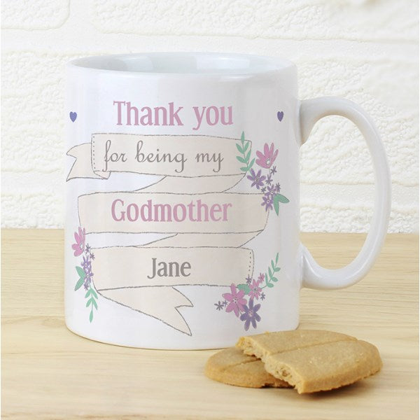 Personalised Garden Bloom Mug from Pukkagifts.uk