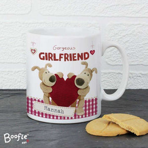 Personalised Boofle Shared Heart Mug from Pukkagifts.uk