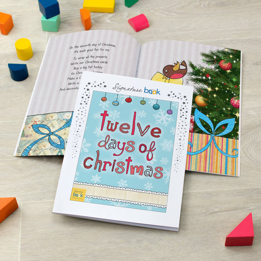Personalised 12 Days of Christmas Book