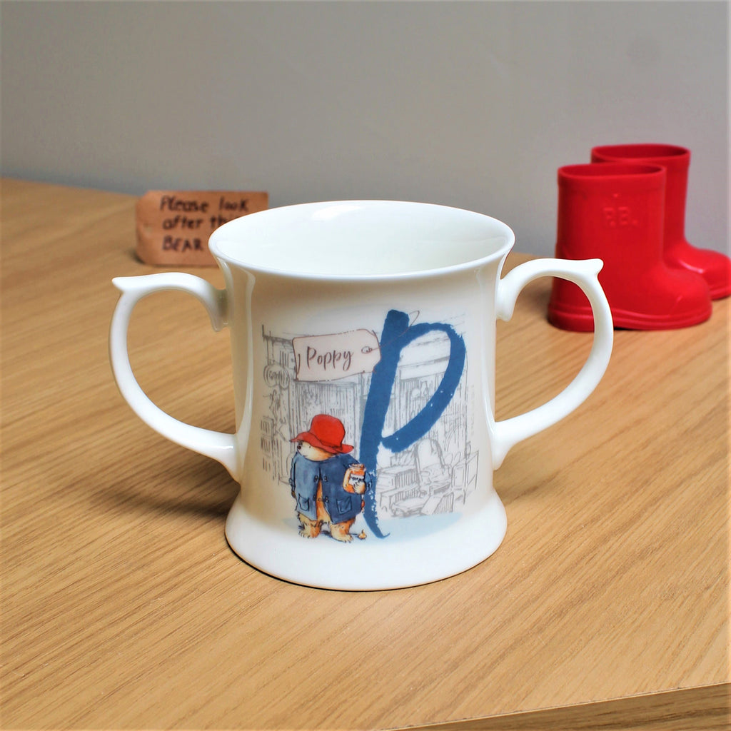 Personalised Paddington Bear Loving Cup