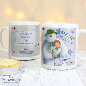 Personalised The Snowman and the Snowdog Merry Christmas Mug from Pukkagifts.uk