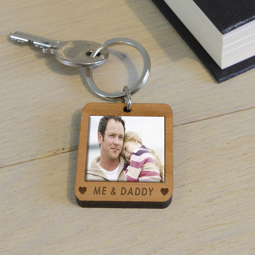 Personalised ME & Wooden Keyring