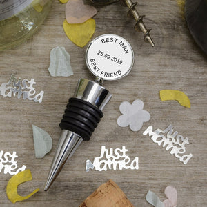 Personalised Bottle Stopper Any Message