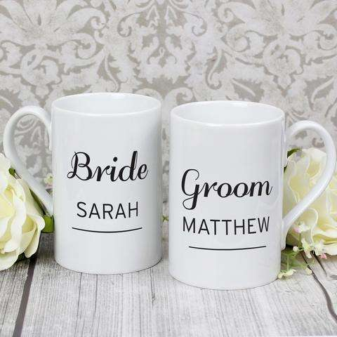 Personalised Classic Mug Set from Pukkagifts.uk