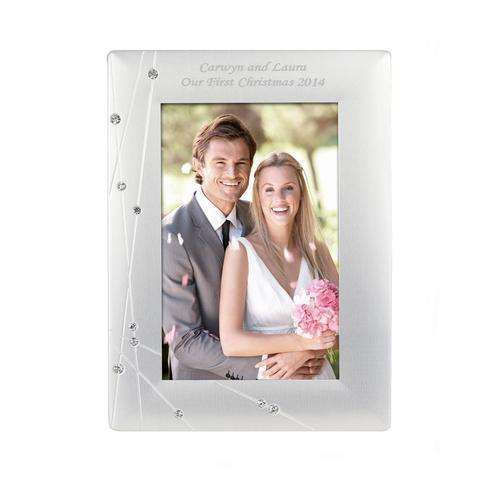 Personalised Diamante Photo Frames from Pukkagifts.uk