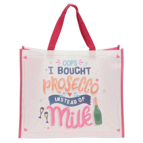 Prosecco Shopping Bag from Pukkagifts.uk
