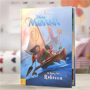 Personalised Disney Moana Story Book from Pukkagifts.uk