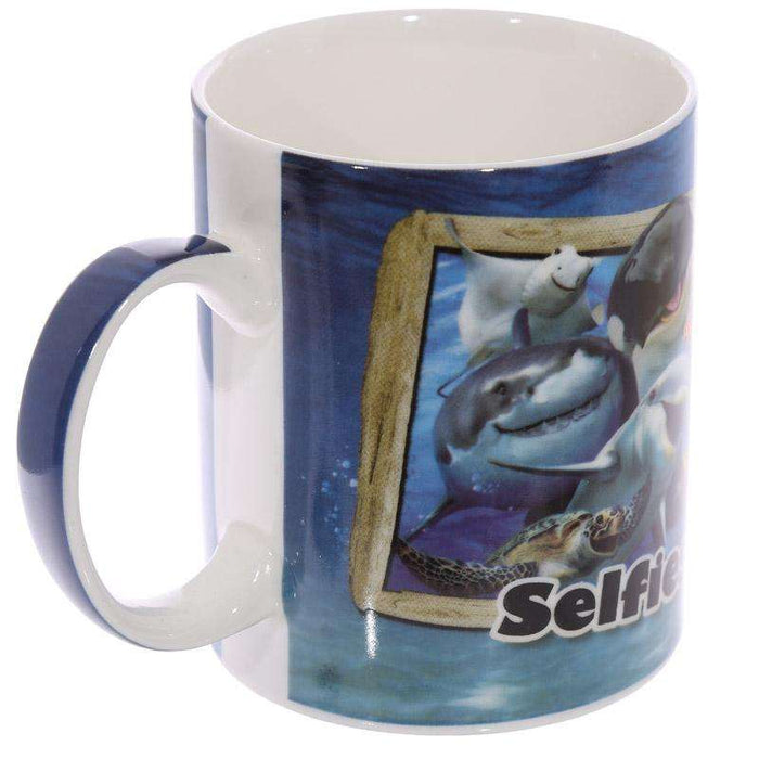 Sealife Selfie Mug from Pukkagifts.uk