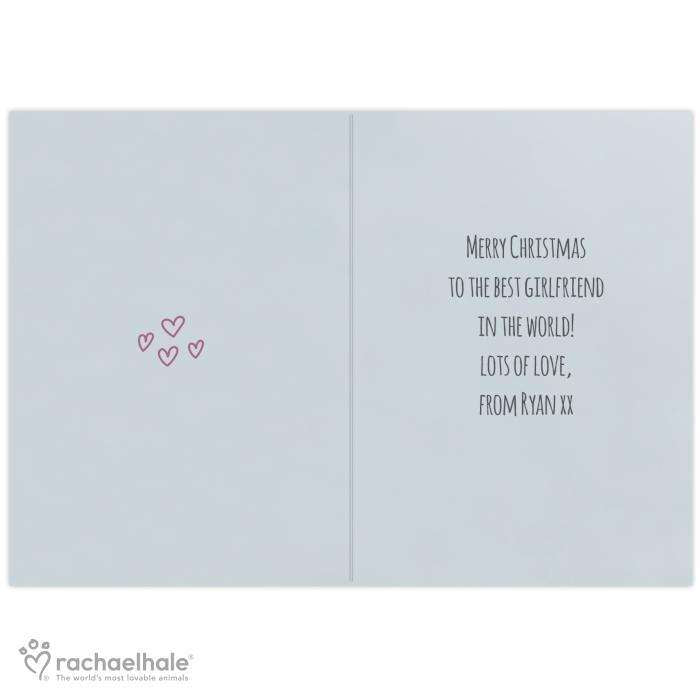 Personalised Rachael Hale Terrier Christmas Card from Pukkagifts.uk