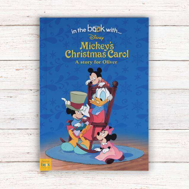 Personalised Mickey's Christmas Carol - Softback from Pukkagifts.uk