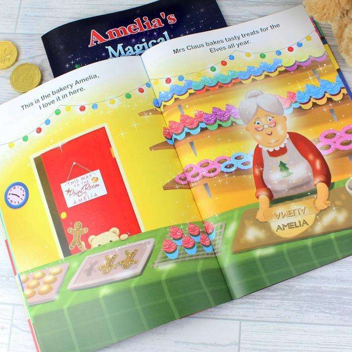 Personalised Magical Christmas Adventure Story Book from Pukkagifts.uk