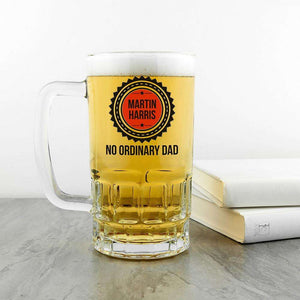 No Ordinary Dad Beer Glass Tankard,Pukka Gifts
