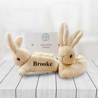 Personalised Peter Rabbit Booties from Pukkagifts.uk