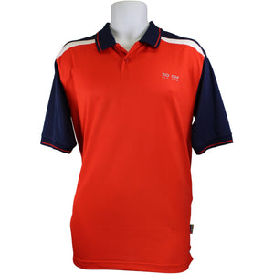 ZO-ON Red and Navy DryZo Polo Shirt