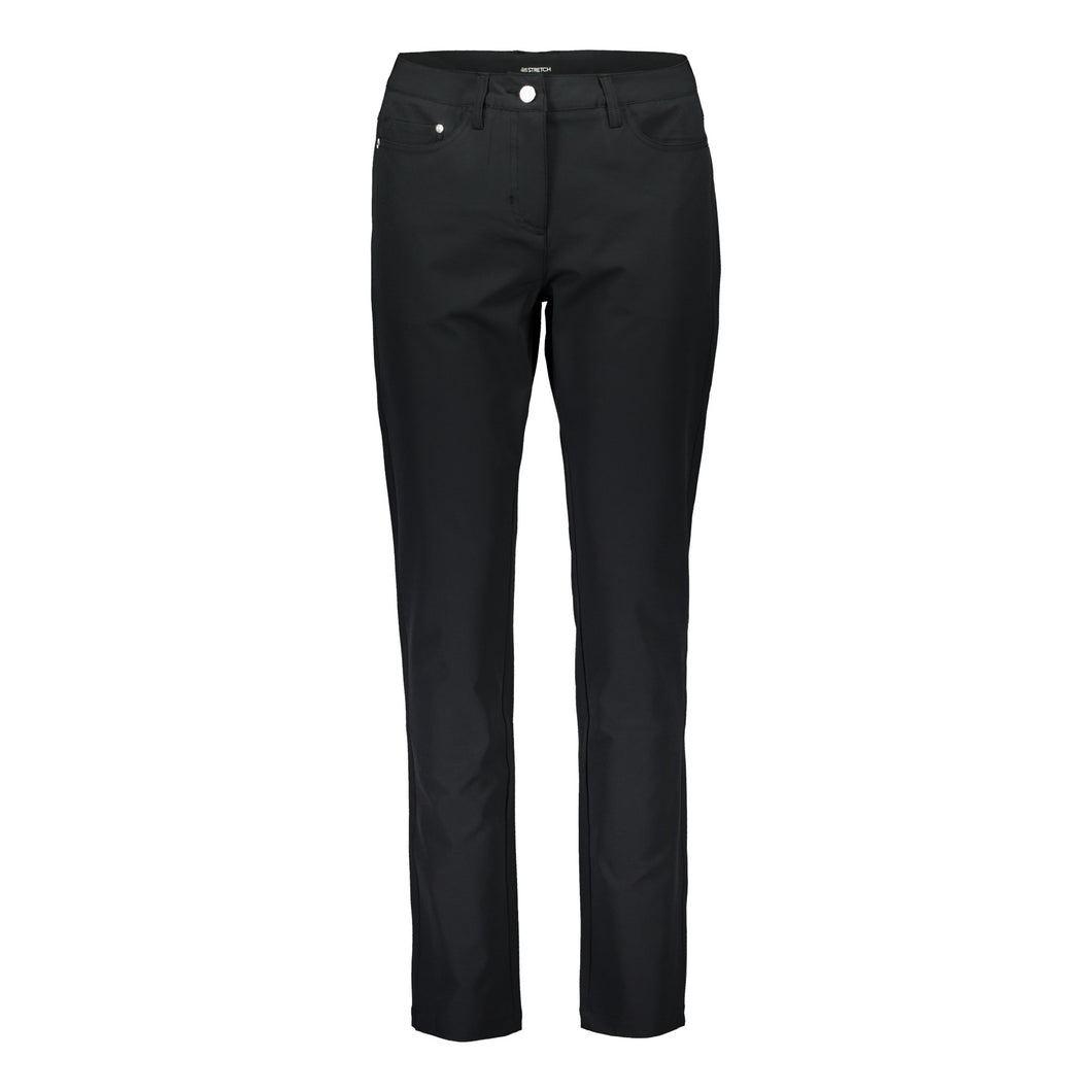 803121 Catmandoo Timea Ladies Black Stretch Trousers Product Image Front