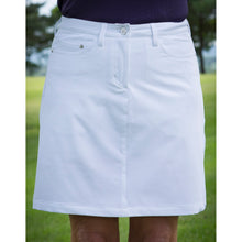 803124 Catmandoo Mirim Ladies White Stretch Skort Model Image Front