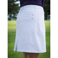 803124 Catmandoo Mirim Ladies White Stretch Skort Model Image Side