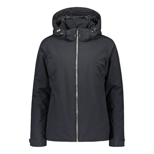 804100 Catmandoo Kosthan Womens Black 5K Waterproof Jacket Product Image Front