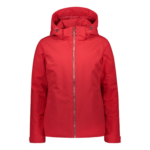 804100 Catmandoo Kosthan Womens Red Tango 5K Waterproof Jacket Product Image Front