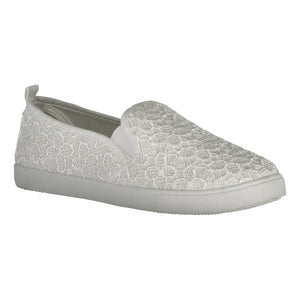 Catmandoo Women's Kimmel Plimsoll Leisure Shoe White Product Image Front 791311