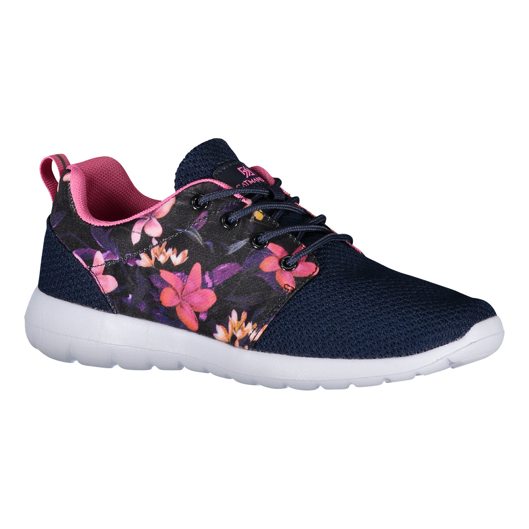 Catmandoo Women's Iisa Multisport Training Shoe Navy Flower Print Product Image Front 791553