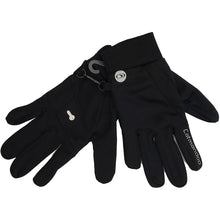 832908 CMD Unisex Mens Womens Black Stretch Running Glove Product Image 03